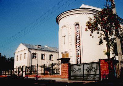 Здание церкви в настоящее время